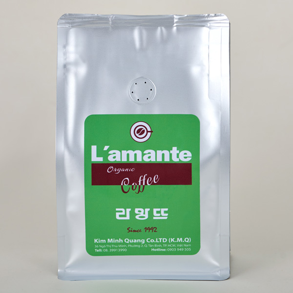 Cafe L'amante Organic - Green Silver 250gr