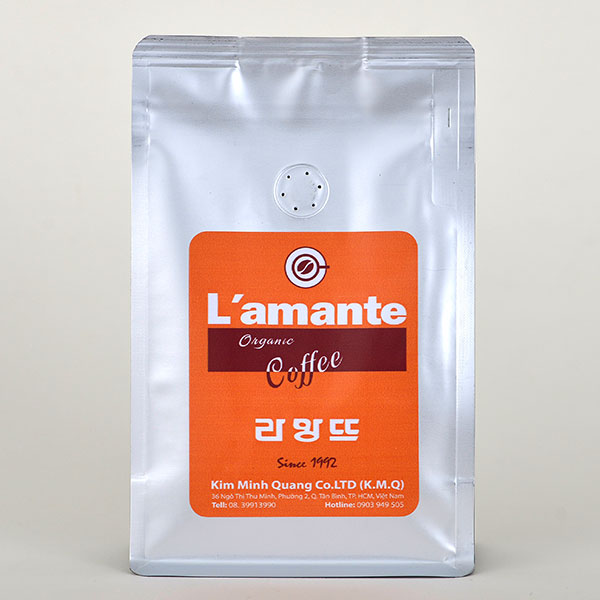 Cafe L'amante Organic - Orange Silver 200gr - Ảnh 1