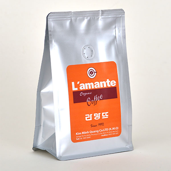 Cafe L'amante Organic - Orange Silver 200gr - Ảnh 2