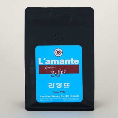 coffee L'amante Organic - Blue Black 500gr