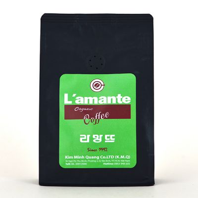 coffee L'amante Organic - Green Black 250gr